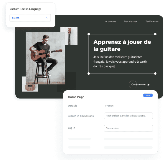 Establish Connect With Multilingual UI and localization